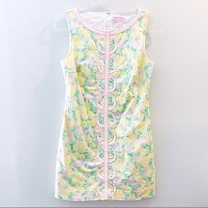 Lilly Pulitzer Shift Dress With Pockets Size 4